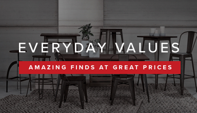 Everyday Values. Amazing Finds at the Great Prices.