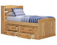kids bookcase beds