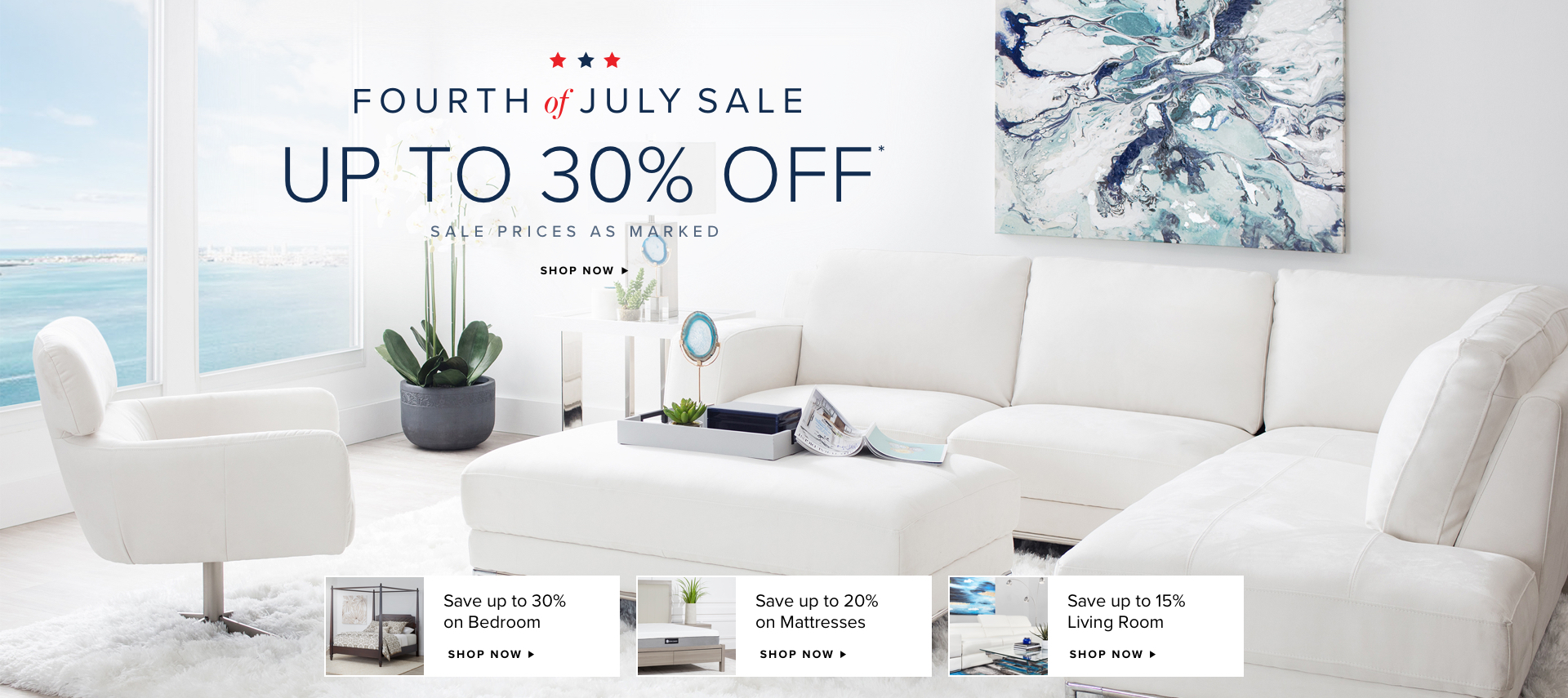 Fourth of July Sale up to 30% OFF* Sale Price as Marked. Shop Now.