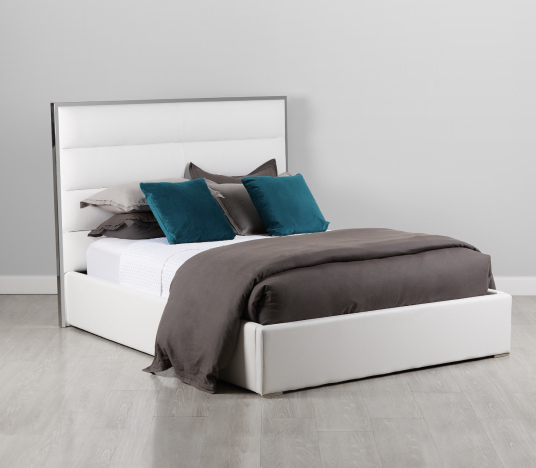 In-stock beds. Click to shop.