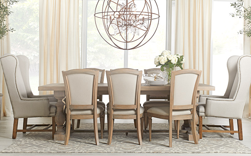 Casual Living. Haddie Dining. Shop Now